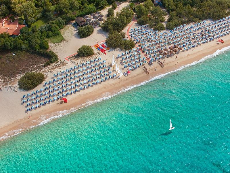 Calaserena Village_spiaggia