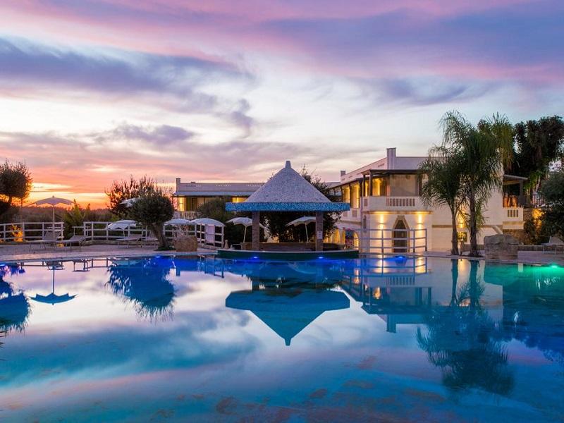 Eden Country Resort & SPA_piscina tramonto