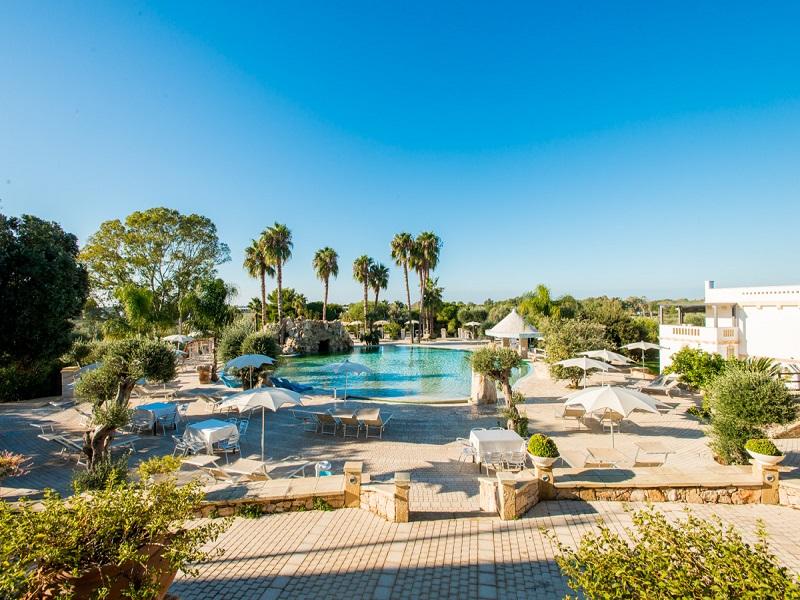 Eden Country Resort & SPA_vista piscina